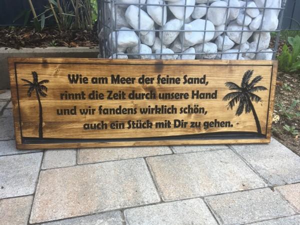 Holzschild - 100%Bamberg