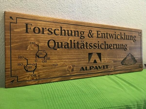 Holzschild - Firmen & Beruf
