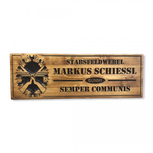 Holzschild - SFw Schießl