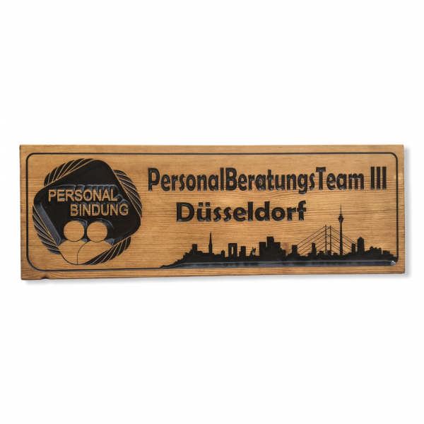 Holzschild - Personalberatung
