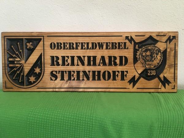 Holzschild - OFw Steinhoff