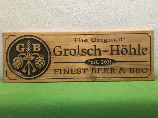 Holzschild - Hobby & Freizeit